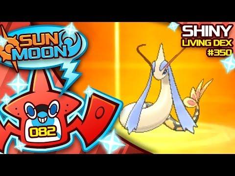 LETS GO! COMPETITIVE SHINY MILOTIC!! Quest For Shiny Living Dex #350 | Sun Moon Shiny #82