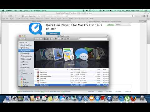 How to Download QuickTimePlayer For Mac  (FREE)