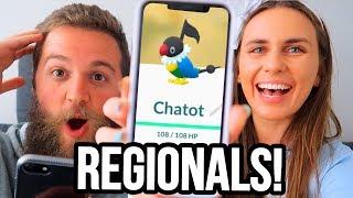 GENERATION 4 REGIONAL CATCHES | Pokémon GO