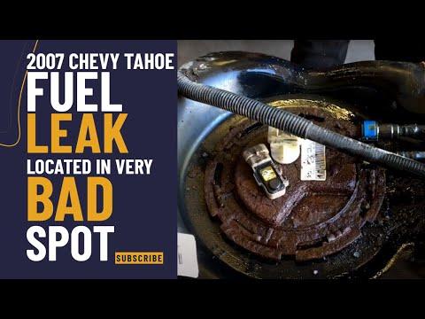 2007 Chevy Tahoe Fuel leak