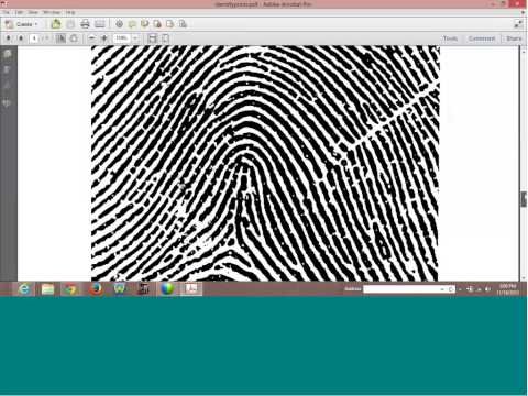 How to Identify Your Fingerprints