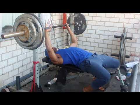 285lb Flat Bench Press At 150lbs
