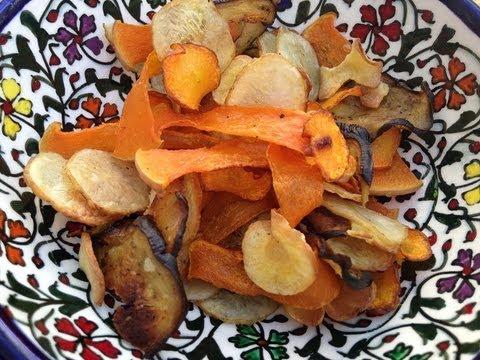 Crispy vegetables snack