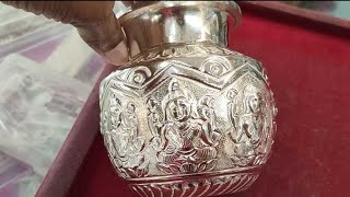 Pure silver items - Silver Pooja items - Babt anklets