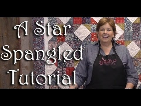 A Star Spangled Patriotic Quilt!