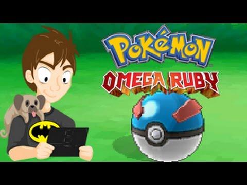 Pokemon Omega Ruby: Let's Play Part 9: Machop Capture!!!!