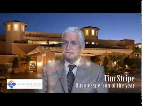 Tim Stripe -  Businessperson of the year - Carlsbad Chamber of Commerce 2015