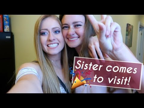 TAKING MY HIGH SCHOOL SISTER TO COLLEGE PARTIES!!