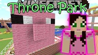 Minecraft: TRONE AMUSEMENT PARK (Custom Map) Part 1