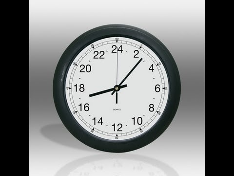 How to change the Time Format on Windows 7 - (Military Time)