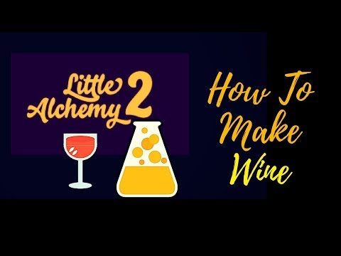 Little Alchemy 2-How To Make Wine Cheats & Hints