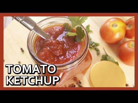 How to make Tomato Ketchup at Home | Homemade Tomato Sauce Recipe by Healthy Kadai