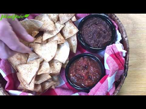 Quick and Easy Oil-Free Tortilla Chips