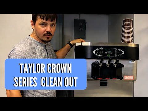 Taylor Crown Series Cleaning Lock Out Procedure