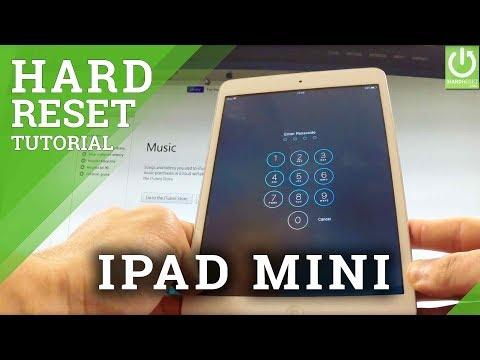 Hard Reset APPLE iPad Mini - Remove Password in APPLE iPad