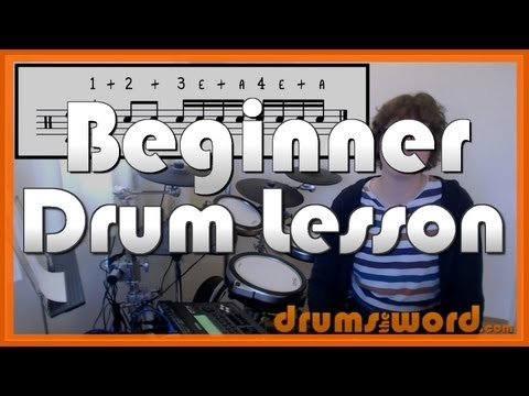★ How To Read DRUM Music - Part 1 of 3 ★ Free Video Drum Lesson (Drum Notation)