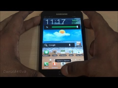 How to root the Galaxy Note (Method #4) (N7000 - ICS Only) - Cursed4Eva