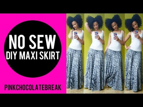 🇹🇷 NO SEW - DIY CIRCLE MAXI SKIRT - 3min 🇹🇷 TURKEY INSPIRED 2 PIECE SET | PART 1 🇹🇷