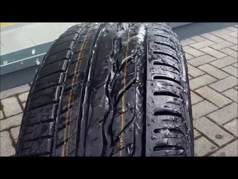 Visual Health Check - Tyres