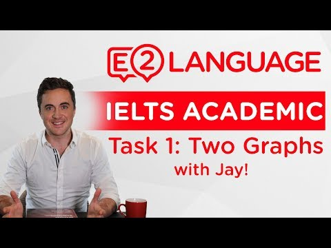 IELTS Academic Writing Task 1: Two Graphs | SUPER STRUCTURE with Jay!