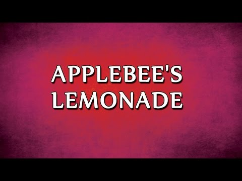 Applebee's Lemonade | RECIPES | EASY TO LEARN