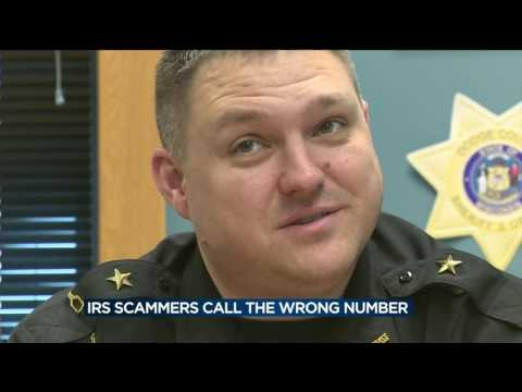 Sheriff gets fake IRS call; gets scammer to confess
