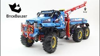 Lego Technic 42070 6x6 All Terrain Tow Truck - Lego Speed build