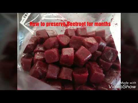 How to Preserve Beetroots for Months