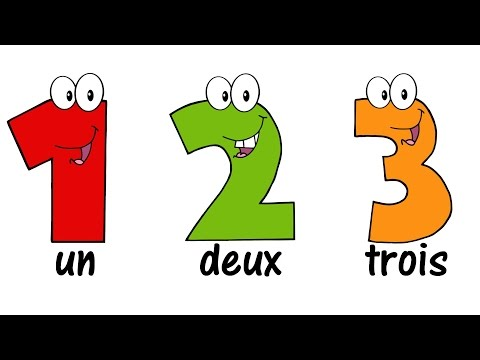 ♫ FRENCH Numbers Song 1-20 ♫ Compter jusqu'à 20 ♫ Comptine des Chiffres ♫ Learn French