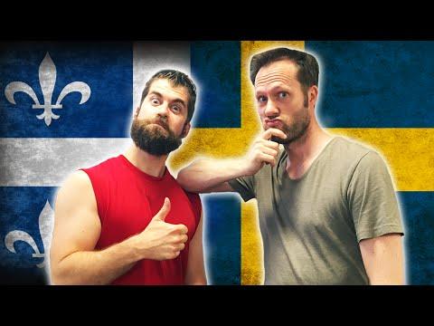 CANADIAN FRENCH VS SWEDISH - Language Challenge
