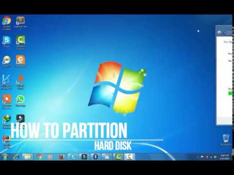 How To Partition Hard Disk Windows 10/8.1/8/7