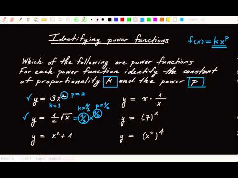 1.9.2 How to identify power functions given a formula
