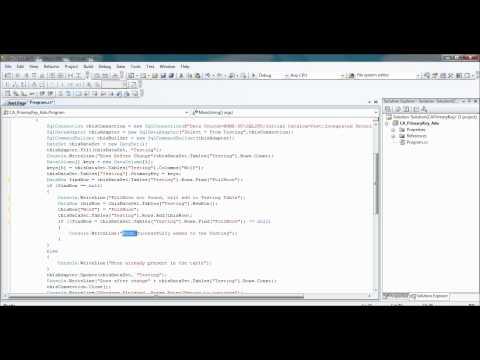 ADO.NET Primary Key (ADHIRAJ)