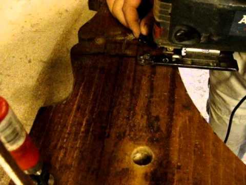 wooden barrel rebuild