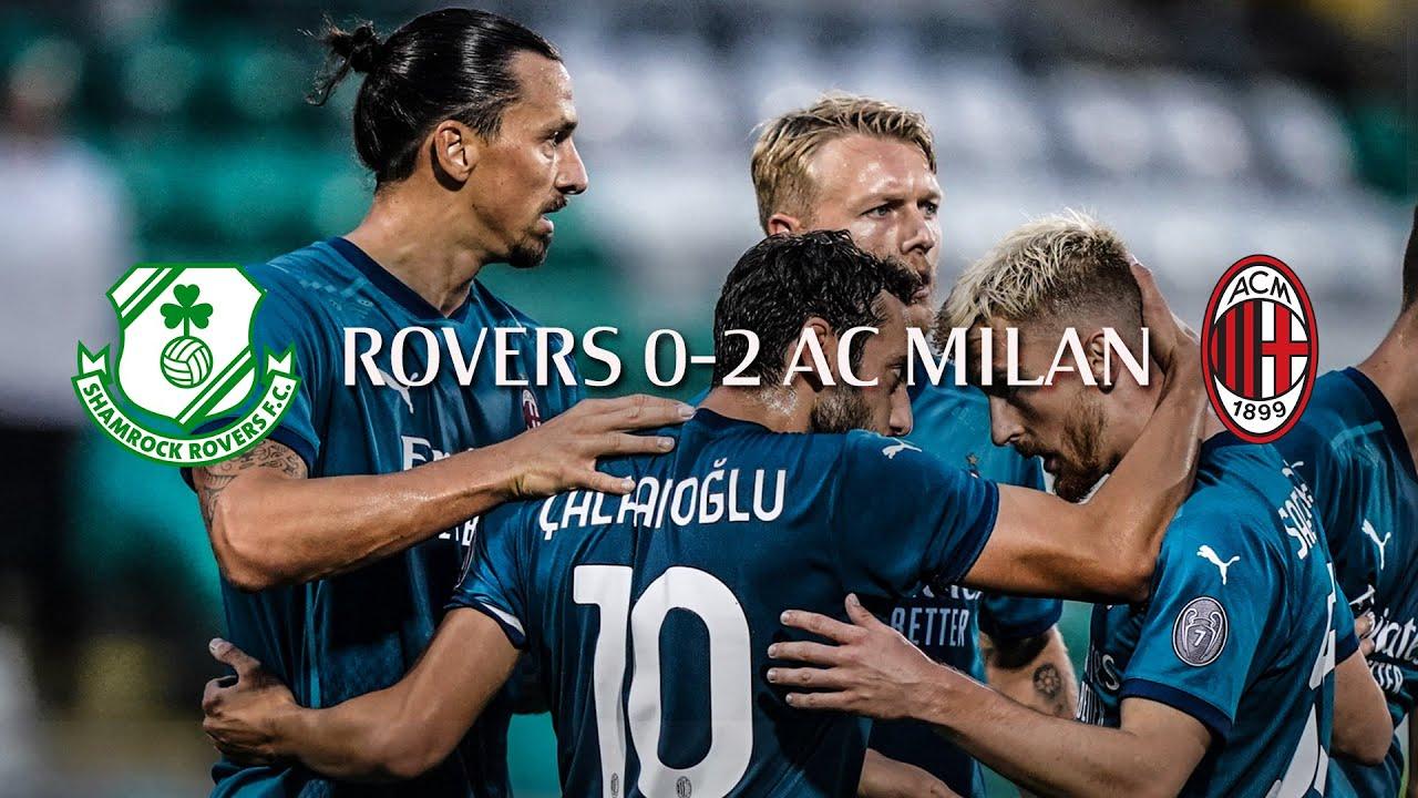 Highlights   Shamrock Rovers 0-2 AC Milan   Europa League 2020/21