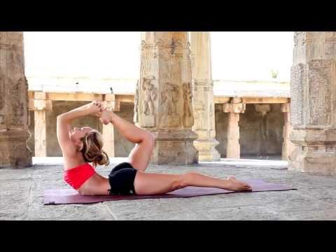 Kino Ashtanga Yoga Demo in Mysore, India