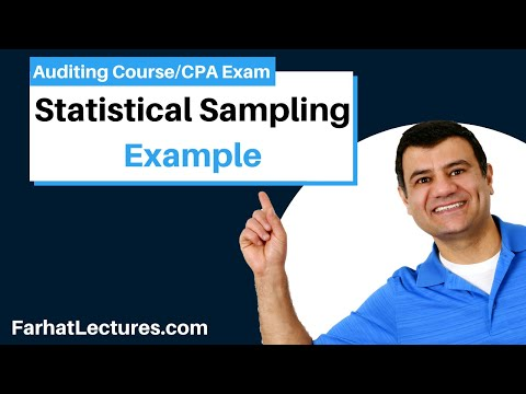 Example: Statistical Sampling in Test of Control | Auditing and Attestation | CPA Exam