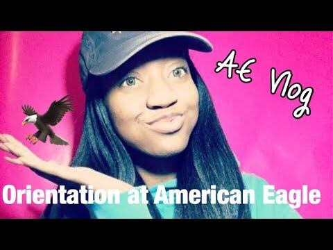 Vlog: First day working at American Eagle// Personal Experience and Information!!