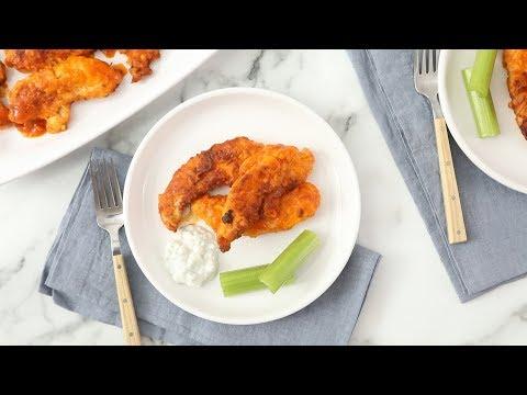 All-American Buffalo Chicken Tenders- Martha Stewart