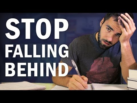 How to Stop Falling Behind on Your Homework