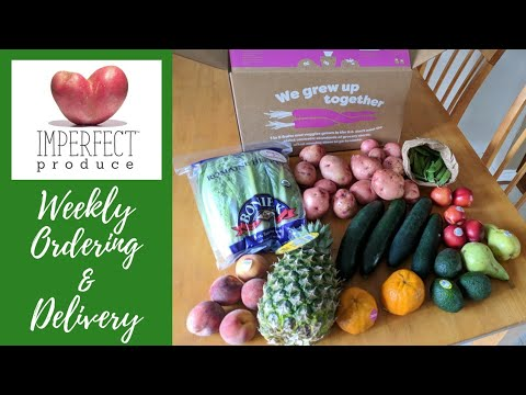 Imperfect Produce || Customizing My Box and Delivery