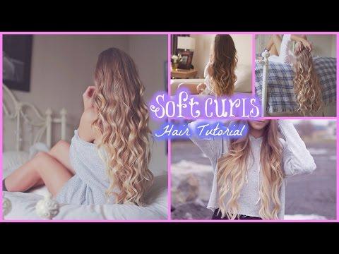 Soft Curls // Hair Tutorial