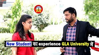 First Year GIRL REACTIONS - Whole Day Spend In GLA University || Campus, library, Hostel, Playground