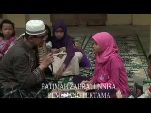 Pemberian Hadiah Bagi Pemenang Peringkas Kultum Ramadhan