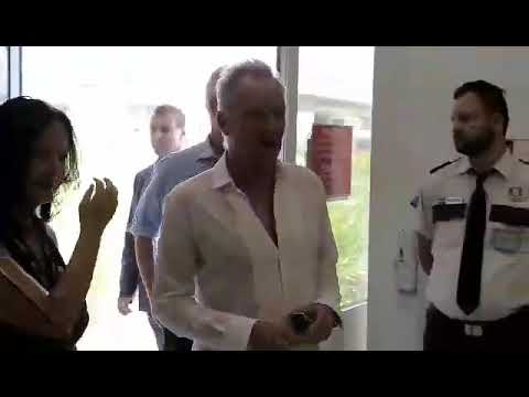 Sting at Athens airport