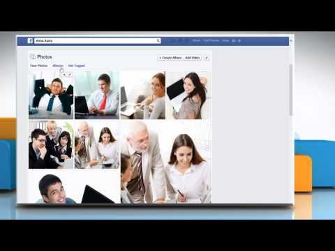 How to change the 'Privacy Settings' for your Facebook® Albums