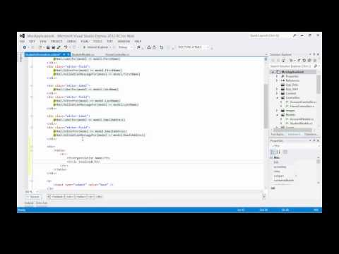ASP.NET MVC Tutorial - Binding to a ViewModel List