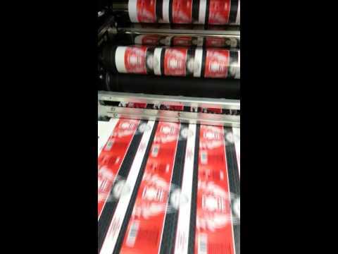 Digital printing of custom beer bottle labels