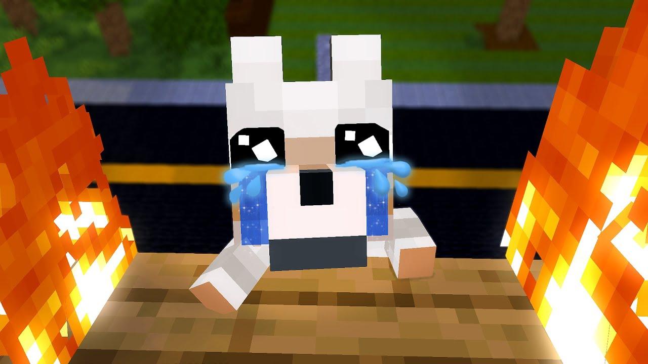 Steve's Family: Dog rescue - Minecraft Animation