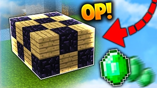 THE MOST OP BED DEFENCE! | Minecraft BED WARS with PrestonPlayz